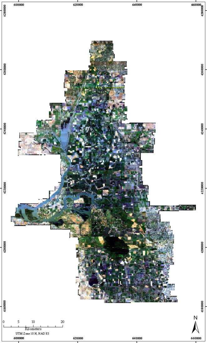 Kefauver Mapping Invasive Plant species in the Sacramento-San Joaquin Delta region using Hyperspectral imagery