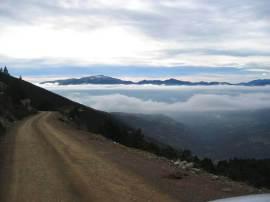 la cerdanya valley fog